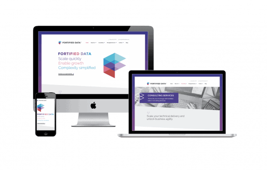 Website Redesign for Fortified Data